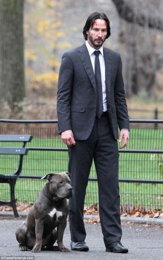 john-wich-con-perro